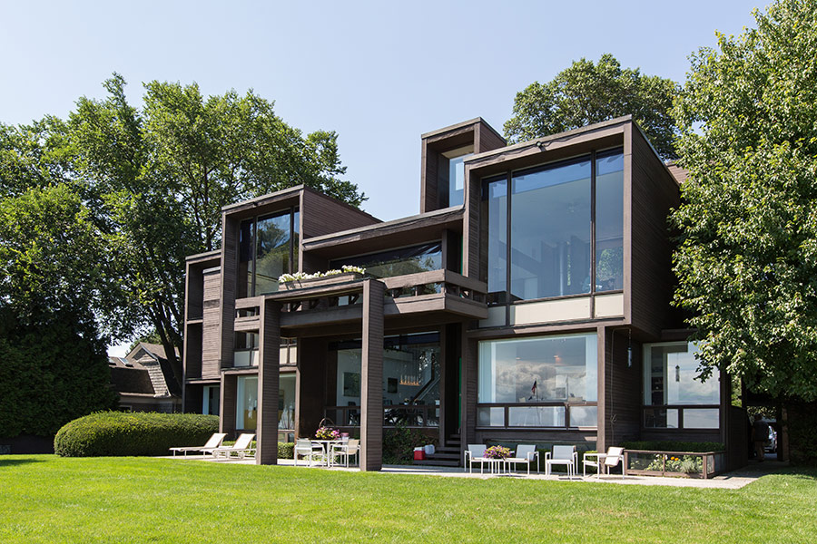 Paul Rudolph's Parcells Residence. Photo:  The Architect's Newspaper ; photo by Michelle & Chris Gerard