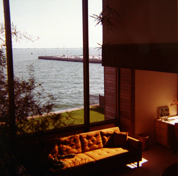 Historical photo of completed construction. Photo: Paul Rudolph Heritage Foundation Archives