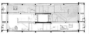 """A section through Le Corbusier's """"Unite"""""""