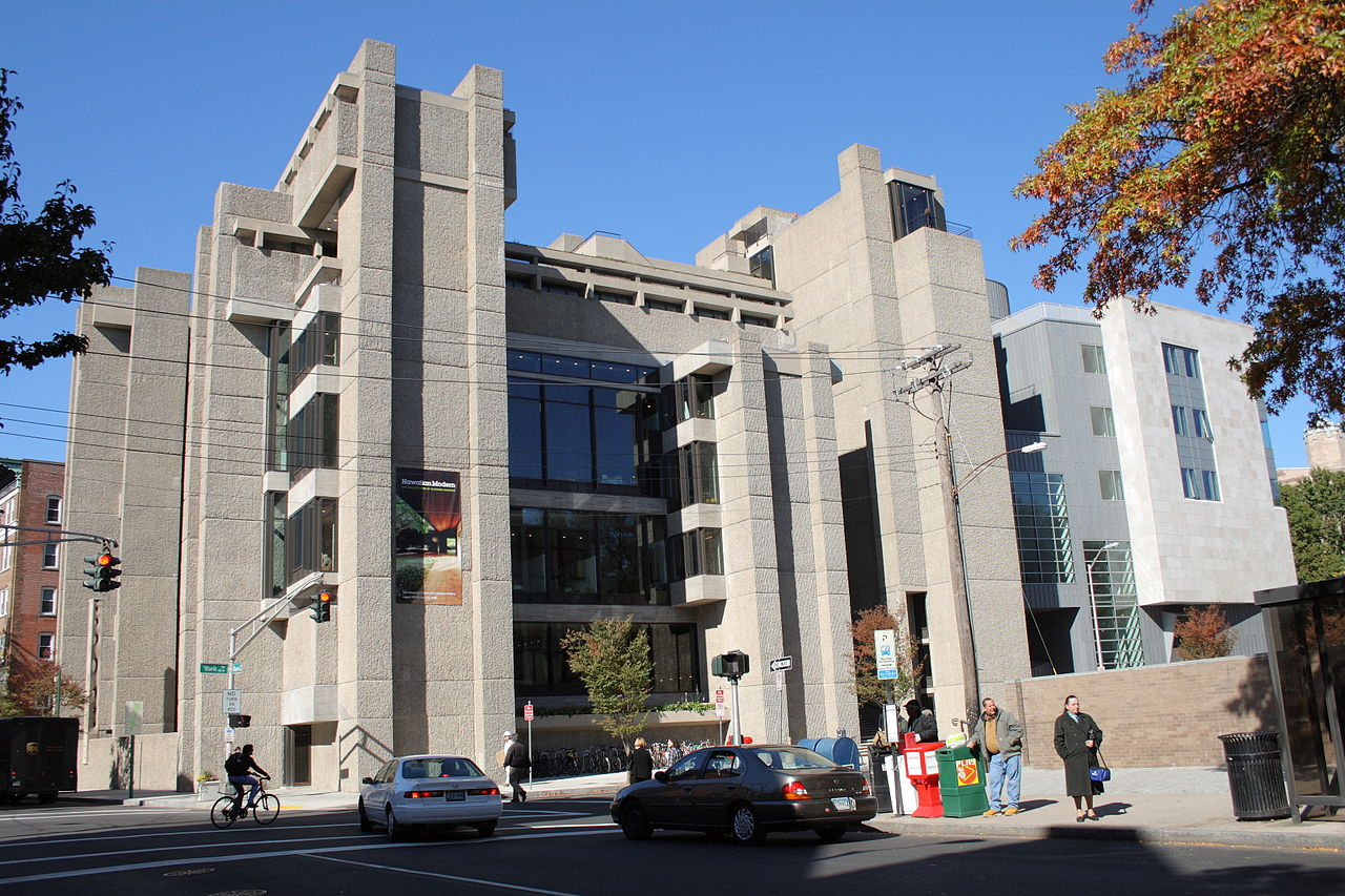 The  Yale Art & Architecture Building —now rededicated as  Rudolph Hall —which Paul Rudolph designed (and was constructed and completed) during the time he was chair of the Yale's school of architecture. Photo: Sage Ross, Wikipedia