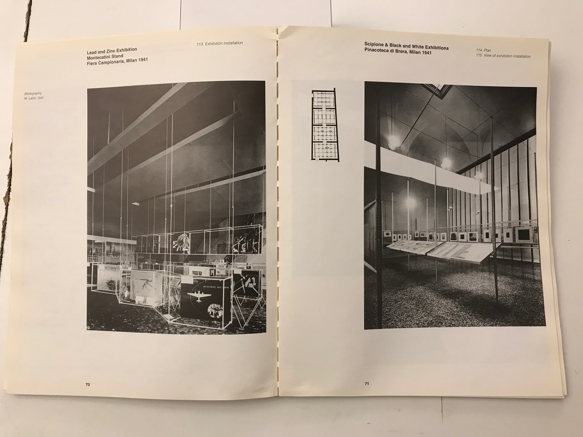 Photo of the book in the Library of the Paul Rudolph Heritage Foundation