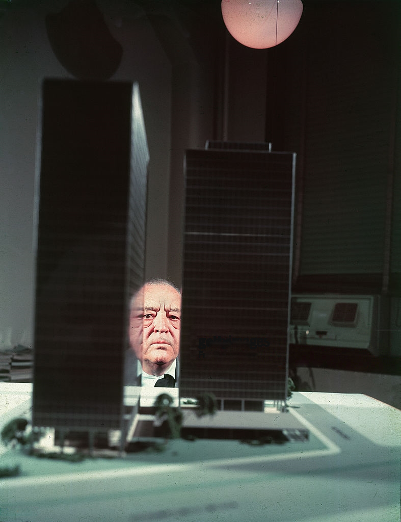 Mies is watching! Photo: The Charnel House –  www.charnelhouse.org