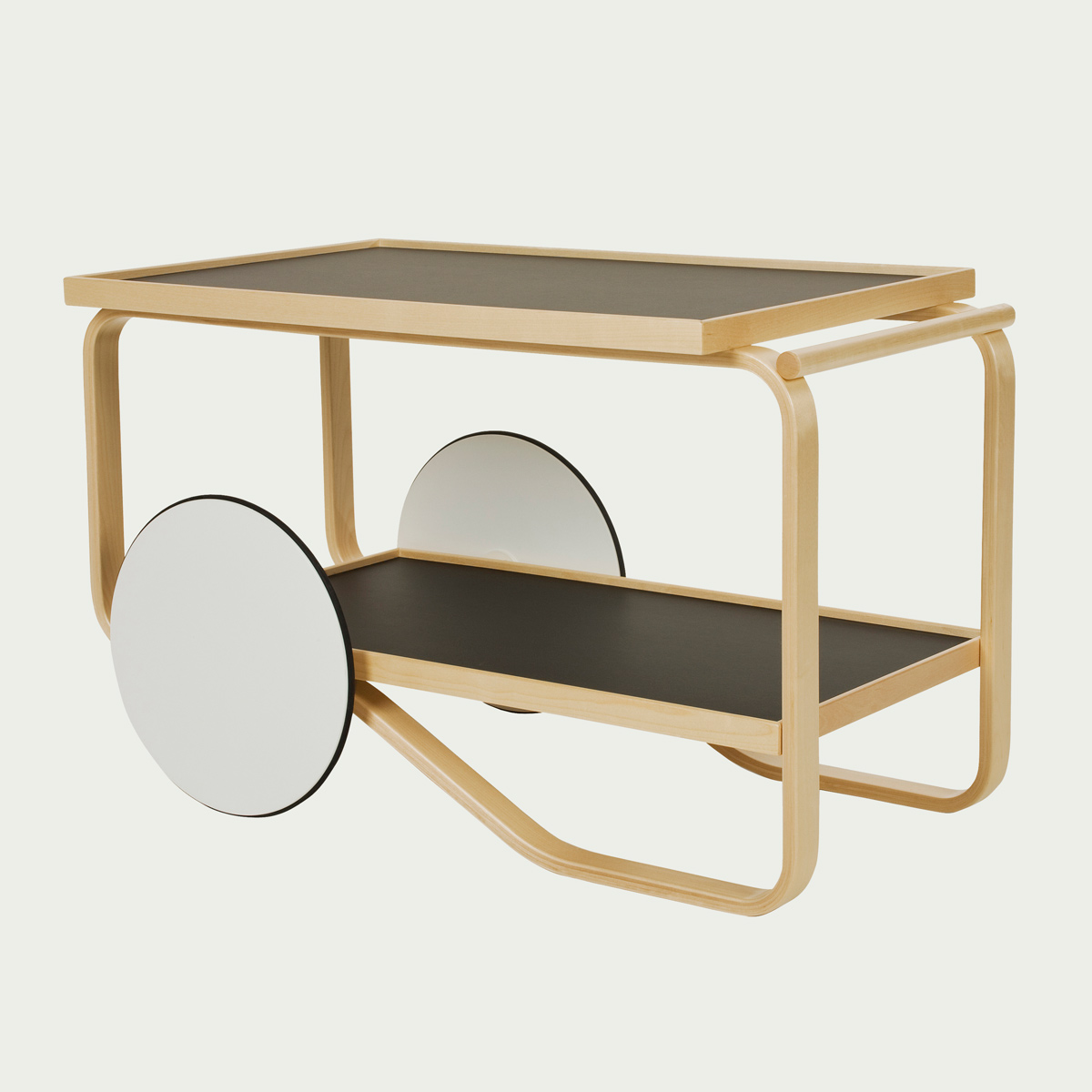Alvar Aalto's Tea Trolley 901, a design from 1936—and still manufactured and available. Image:  www.Aalto.com
