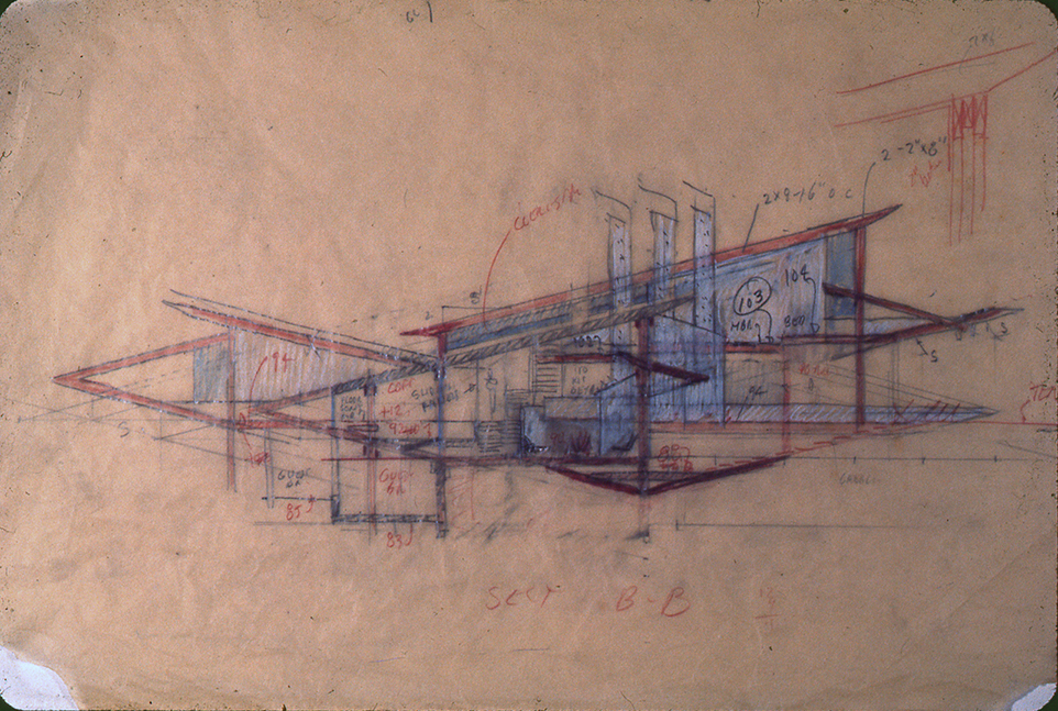 Morgan Residence, 1974