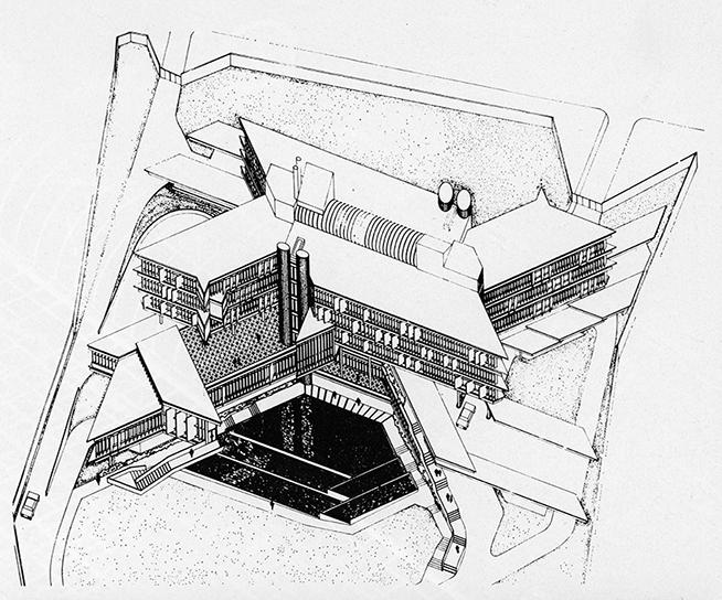 Entrecanales y Tavora Office, 1972