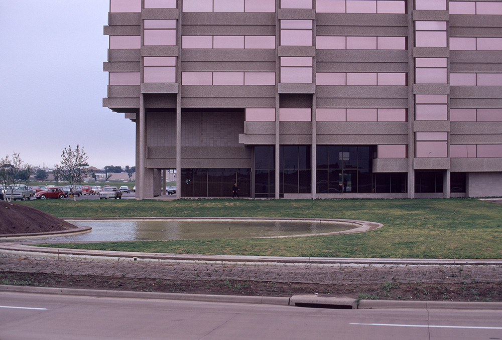 Brookhollow Plaza.  Building Exterior. Photo taken in 1970.