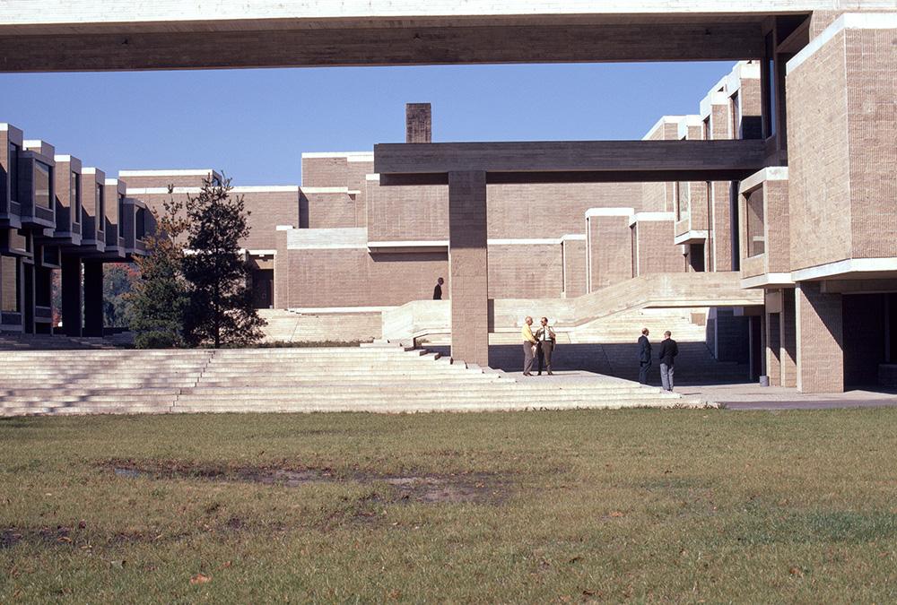 Orange County Government Center.  Building Exterior.  Photo taken between 1968-1970.