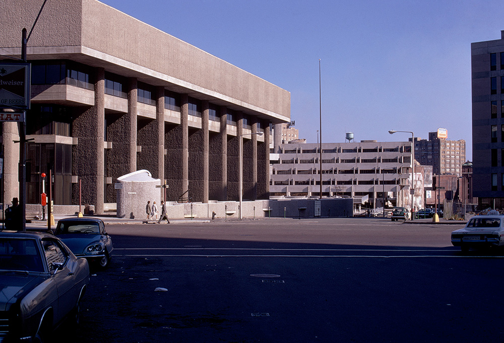 Boston Government Services Center.  Building Exterior.  Photo taken between 1971-1973.
