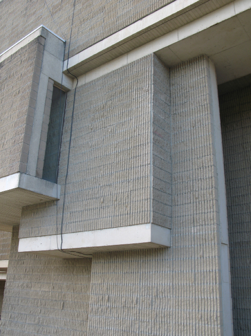 Orange County Government Center.  Building Exterior.  Photo taken February 14, 2009.