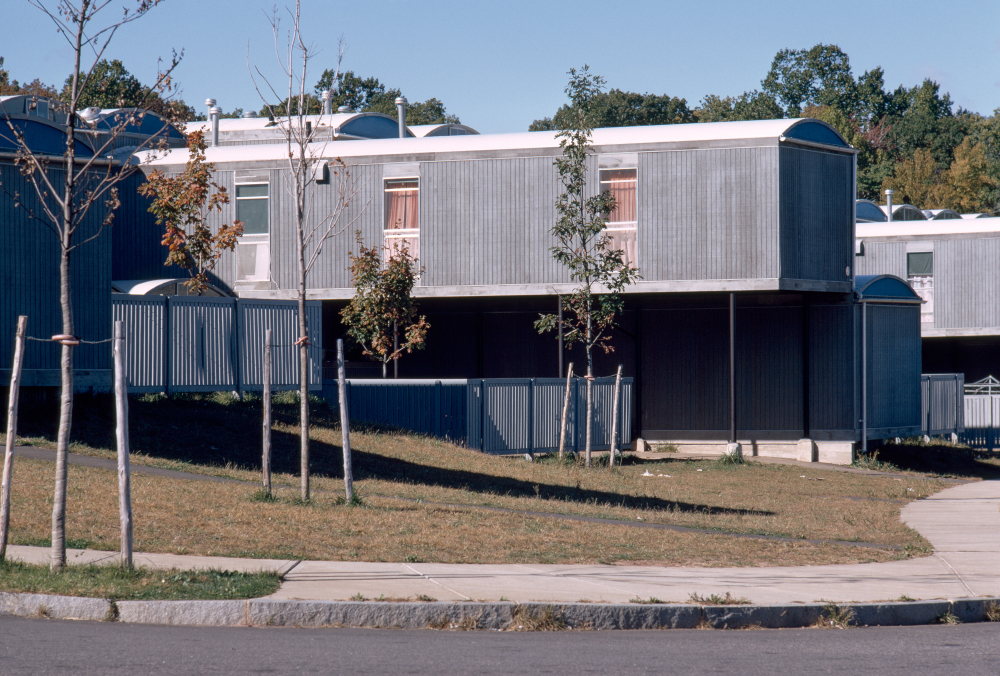 Oriental Masonic Gardens.  Building Exterior.  Photo taken in 1971.
