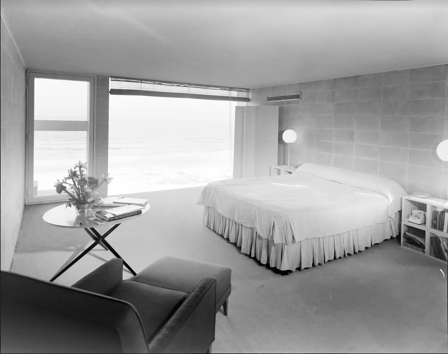 Milam Residence Bedroom, 25 January 1962