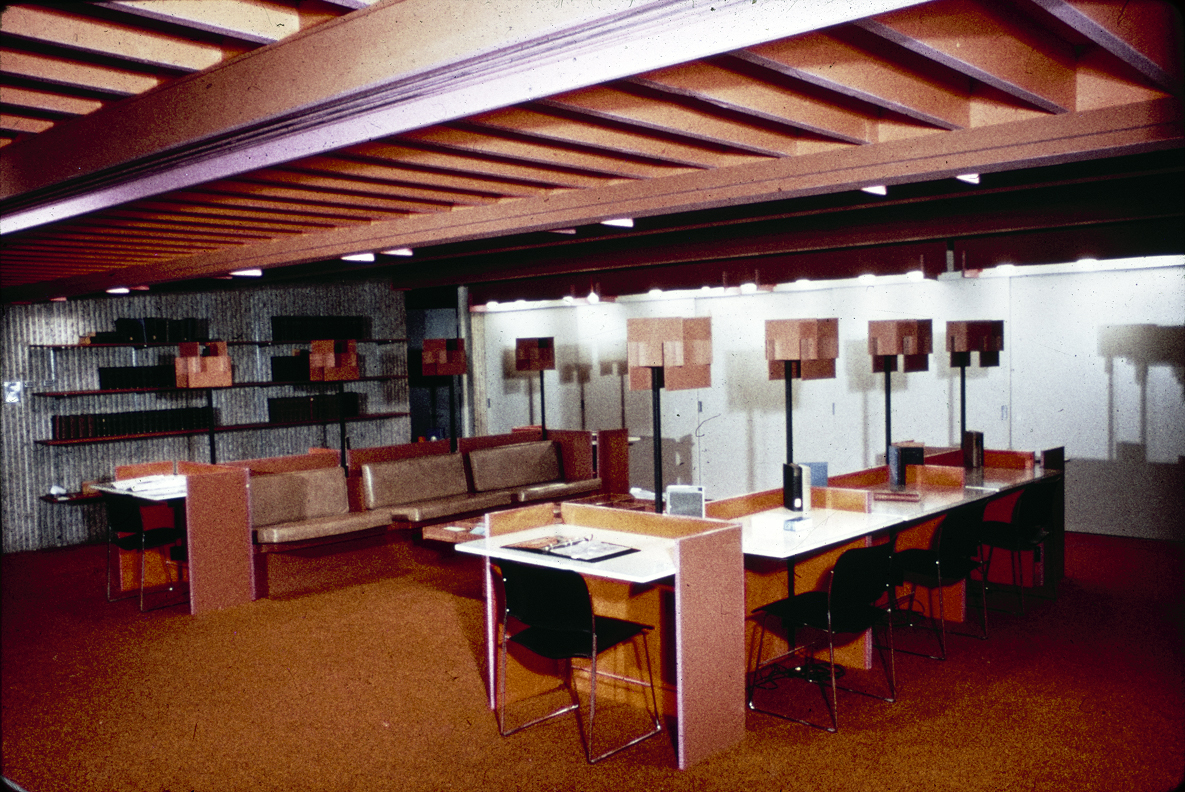 Christian Science Student Center, University of Illinois, Urbana, Illinois. Interior Photograph.