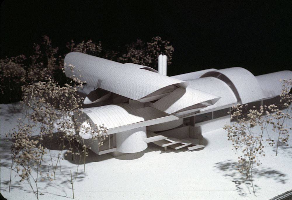 Dr. and Mrs. John M. Shuey Residence, Bloomfield Hills, Michigan.  Project Model.