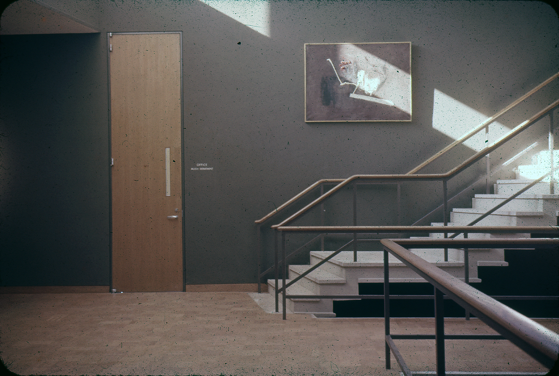 Mary Cooper Jewett Arts Center, Wellesley College, Wellesley, Massachusetts. Photograph of Building Interior. 1955.