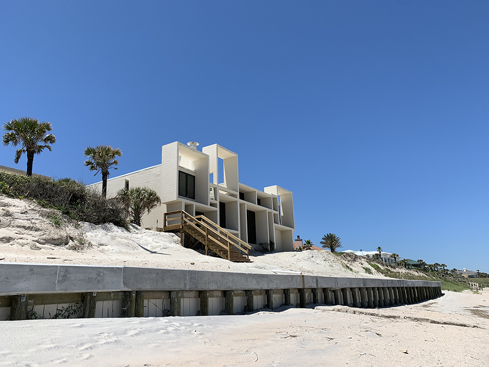 Milam residence, Ponte Vedra Beach, Florida. Building Exterior. Photo taken May 01, 2019.
