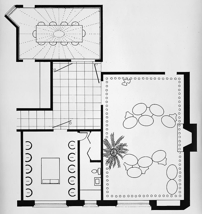 Elman Residence, New York City. Floor Plan.