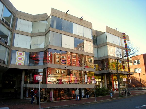 The Design Research store in Cambridge, MA, first opened in 1969.    Photo:    Daderot