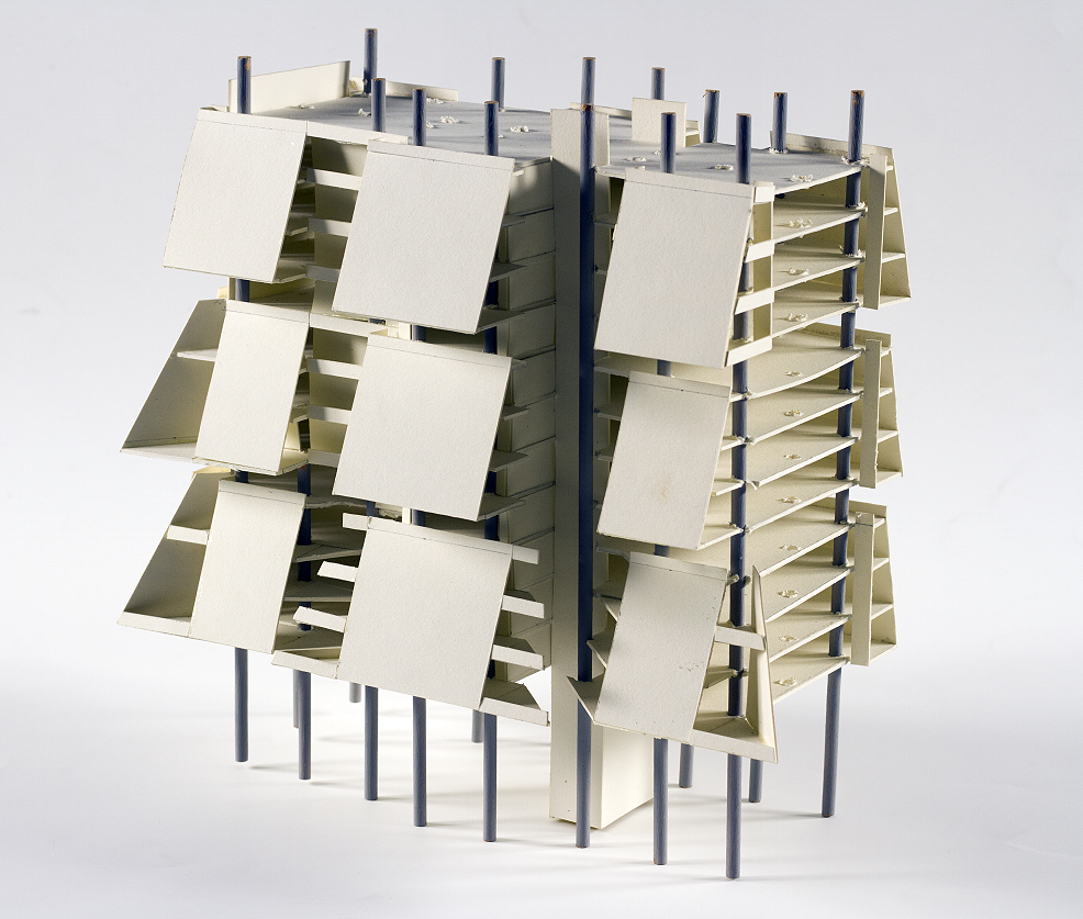 Lower Manhattan Expressway, New York City. Model Fragment.