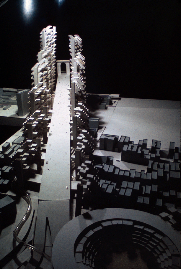 Lower Manhattan Expressway, New York City. Project Model.