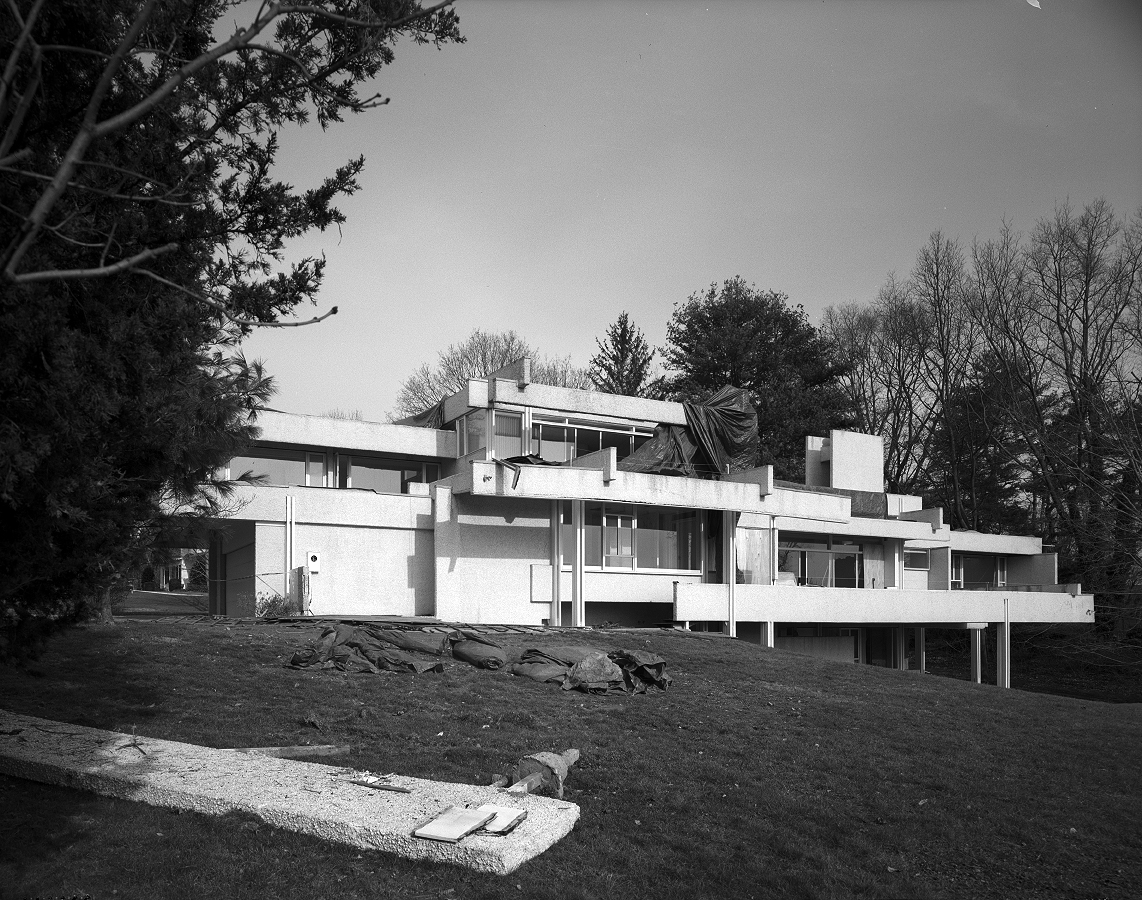 Micheels Residence, 16 Minute Man Hill, Westport, CT. Photo from HABS Report HABS CT-475-13 (CT).