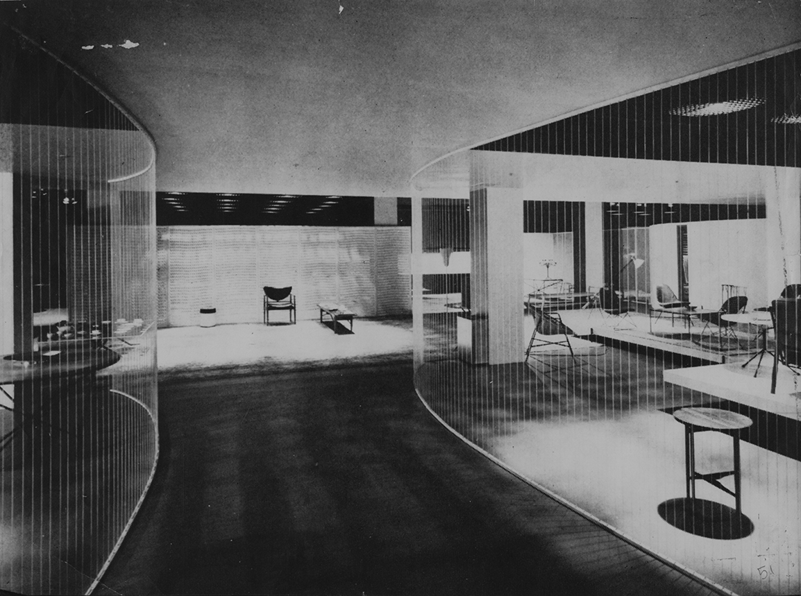 Good Design Exhibition of 1952. Photo of Installation at the Museum of Modern Art, New York City.