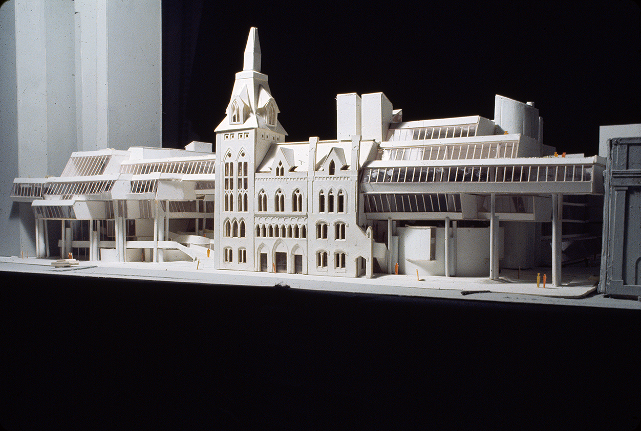 New Haven Government Center, New Haven, Connecticut. Photo of Presentation Model. Scheme B.