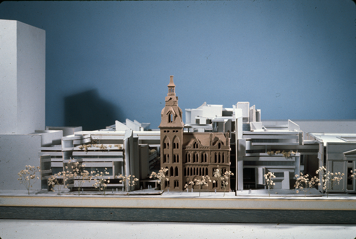 New Haven Government Center, New Haven, Connecticut. Photo of Presentation Model. Scheme D.