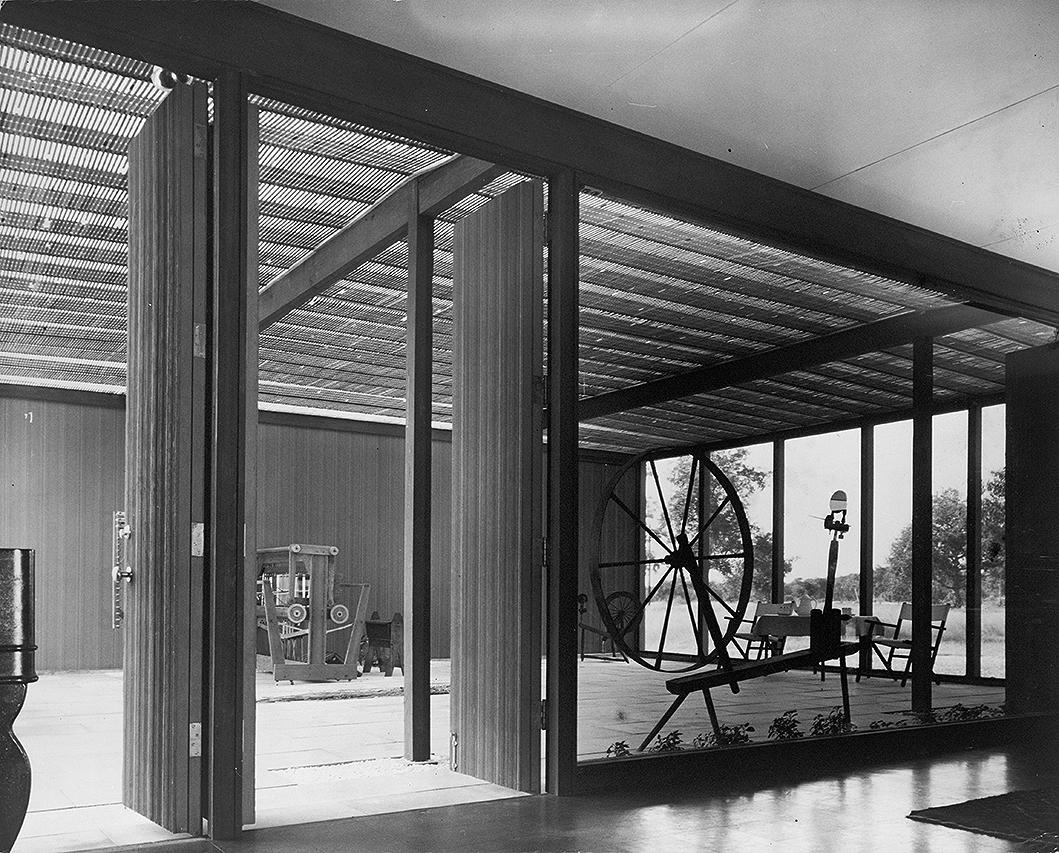 Wilson Residence, Sarasota, Florida. Photo of Building Interior.