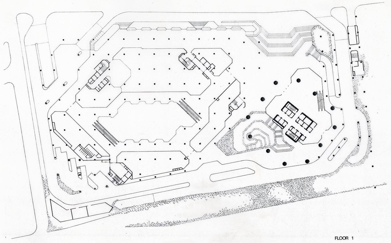 The Concourse, Beach Road, Singapore. Final Scheme. Floor 1 Floor Plan.