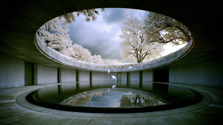 Ando's Benesse House, Japan. Photo: courtesy of Tadao Ando
