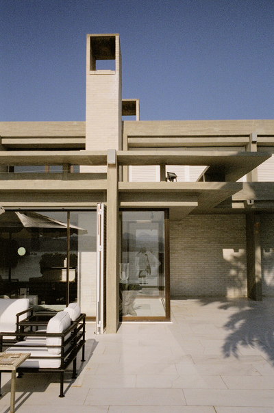 A house in Athens, Greece, designed by C. Errol Barron. Image: courtesy of C. Errol Barron