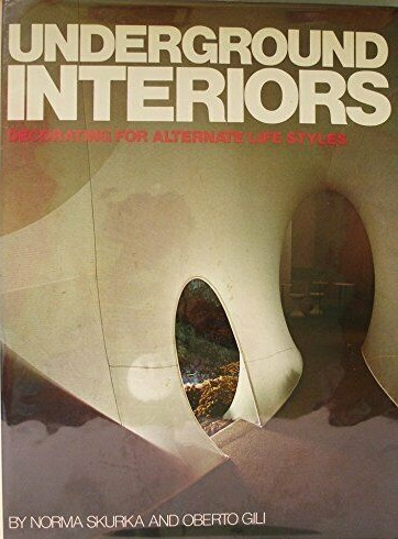 Underground Interiors, published in 1972, showcased some of the world's most unique, quirky, and creative new interior designs—tangible manifestations of that experimental late 60's/early 70's era. A work of Rudolph's was included—of course!.
