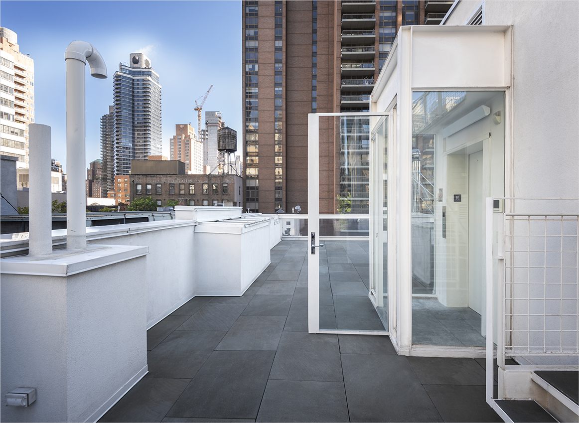 Modulightor, Inc., 246 East 58th St., New York City. Photo of Building Roof taken June 06, 2019.