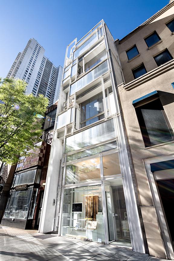 Modulightor, Inc., 246 East 58th St., New York City. Photo of Building Exterior taken April 24, 2019.
