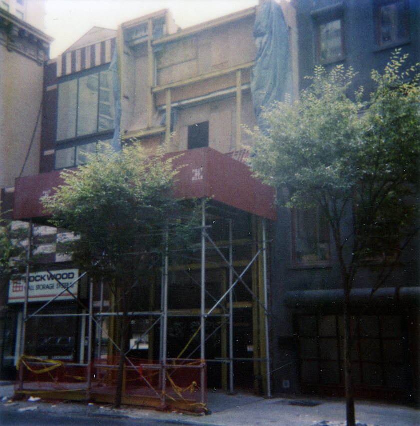 Modulightor, Inc., 246 East 58th St., New York City. Photo of Exterior Building Facade taken August 27, 1992.