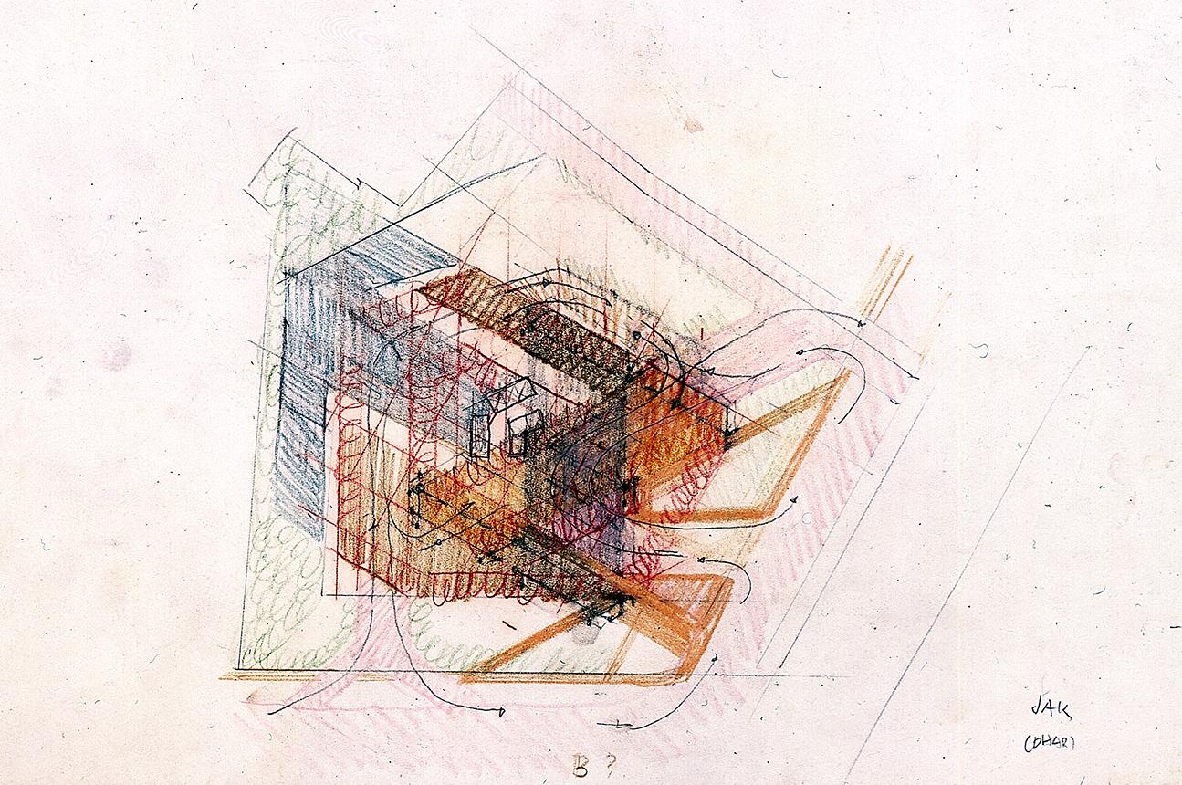 Wisma Dharmala Building, Jakarta, Indonesia. Site Plan Sketch.