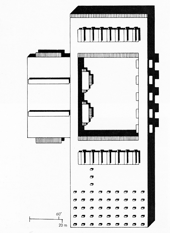 Riverview High School, Sarasota, Florida. Roof Plan.