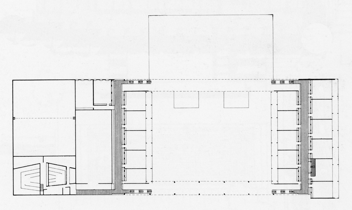 Riverview High School, Sarasota, Florida. Second Floor Plan.