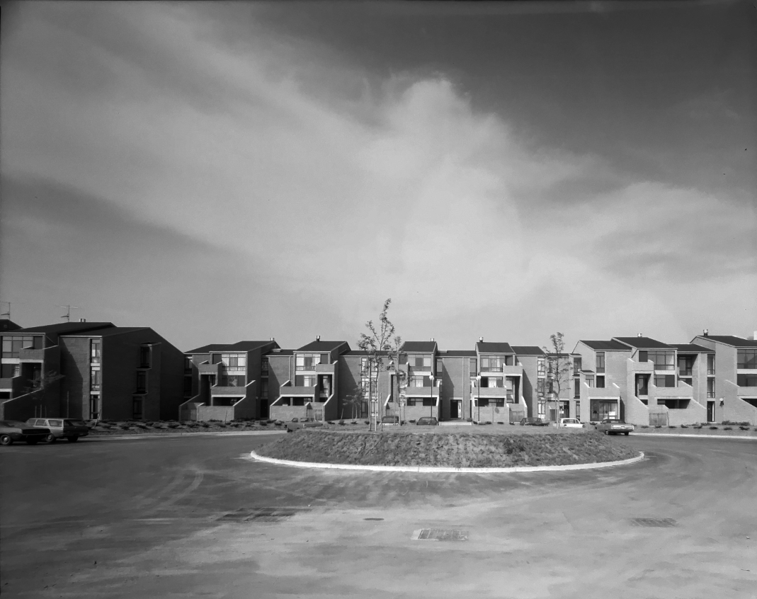 Buffalo Waterfront Housing Project (Shoreline Apartments).  Photo of Building Exterior taken July 11, 1972.