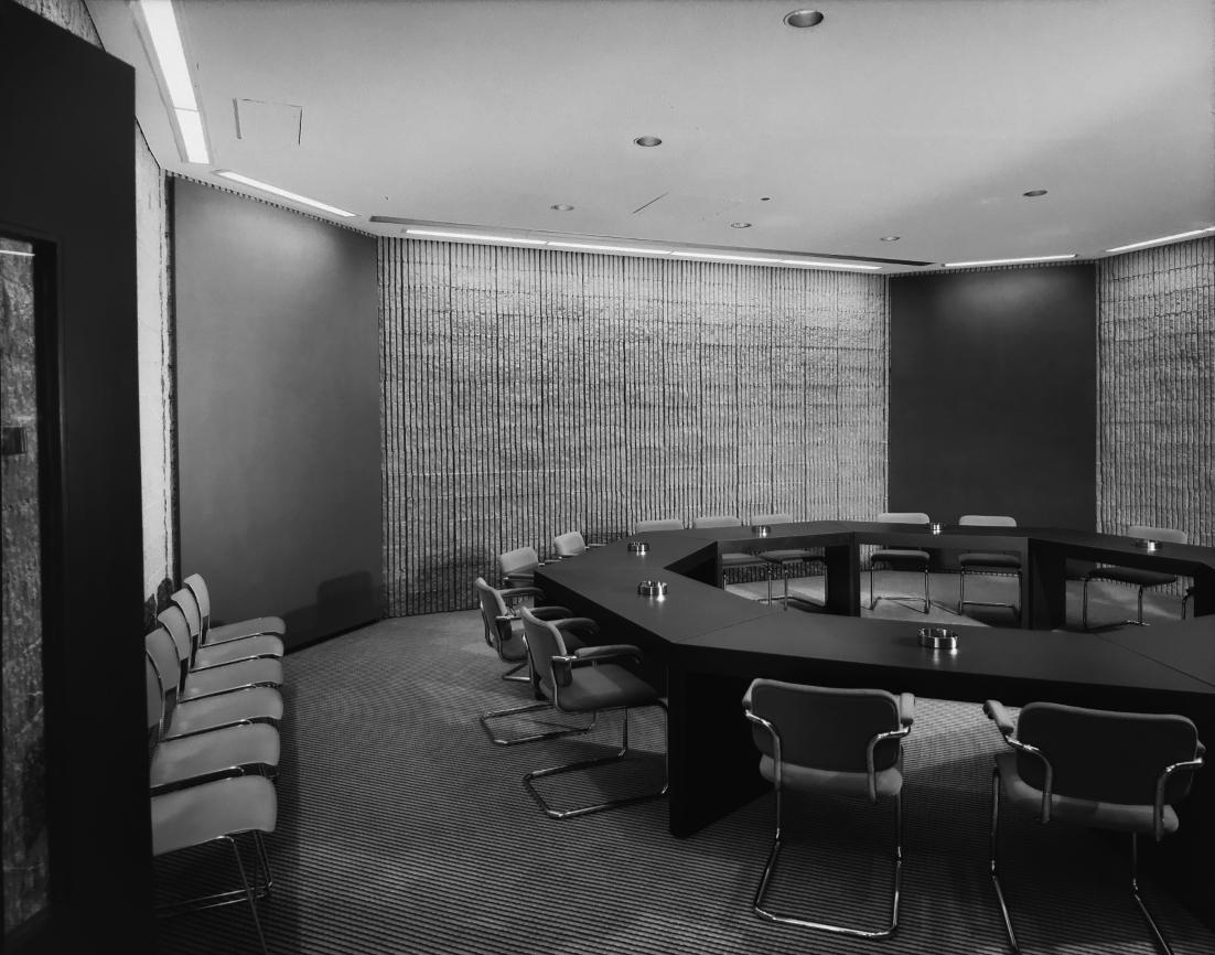 Niagara Falls Public Library, Niagara Falls, NY.  Photo of Building Interior taken July 11, 1972.