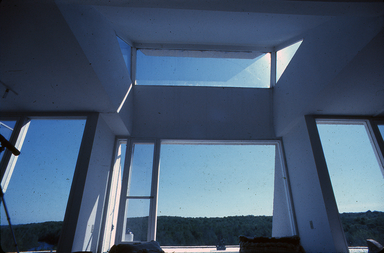 Green residence, Cherry Ridge, Pennsylvania. Photo of Building Interior.