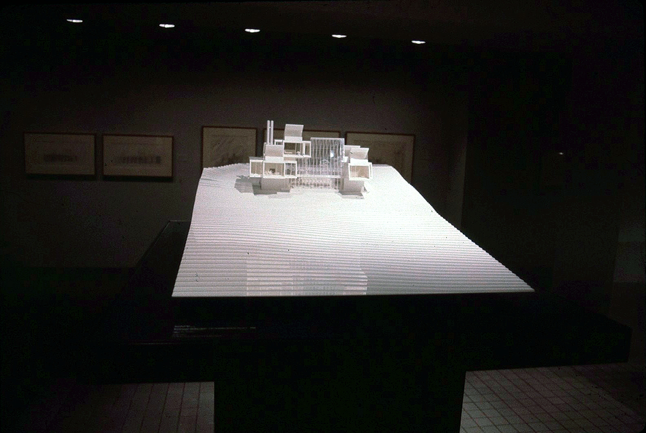Green residence, Cherry Ridge, Pennsylvania. Photo of Presentation Model made for the Museum of Modern Art.