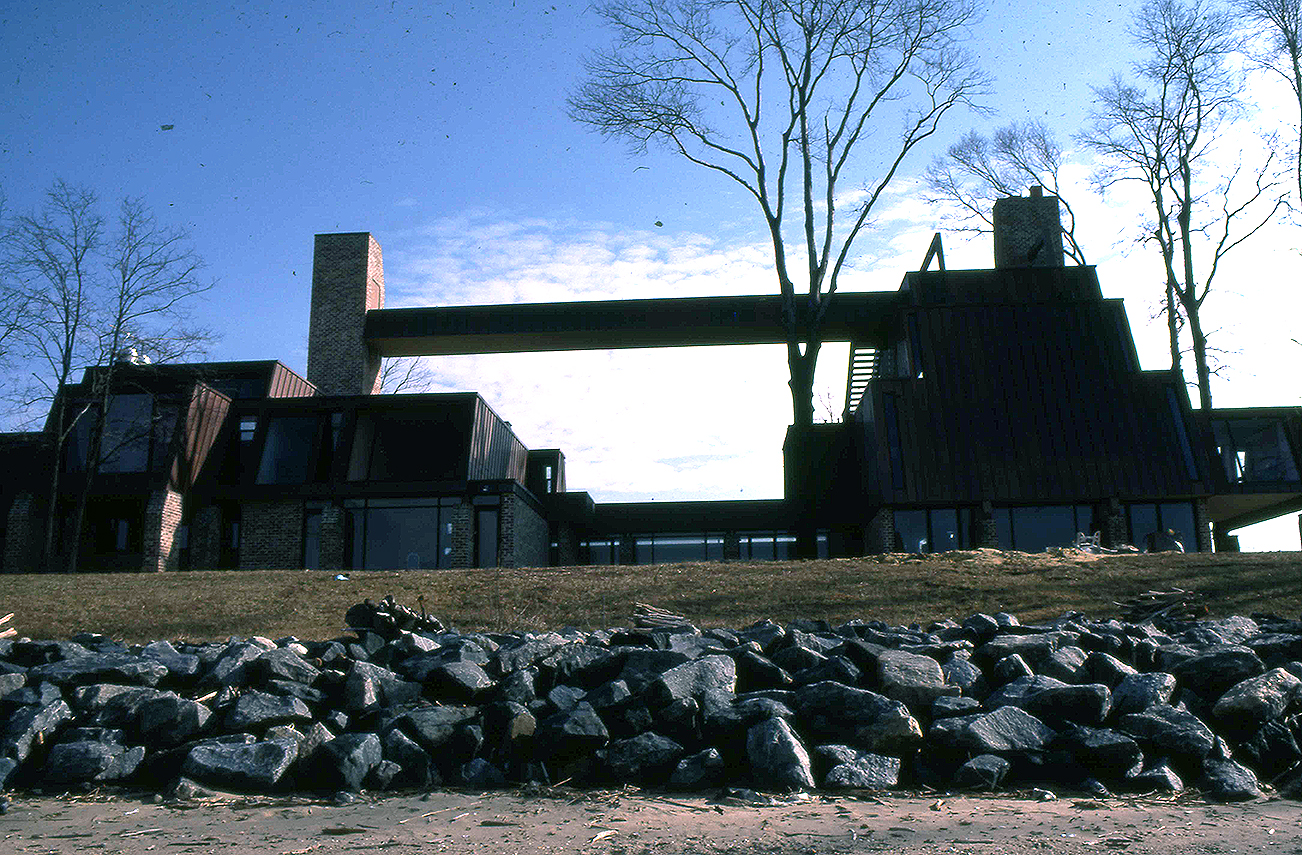Tuttle Residence, Rock Hall, Maryland.  Photo of Building Construction.