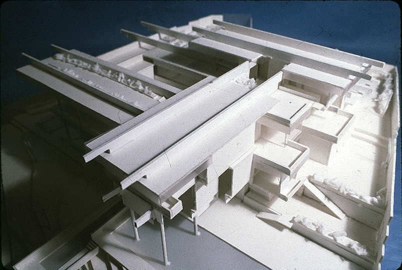 Wee Ee Chao Residence, Singapore. Photo of Presentation Model.