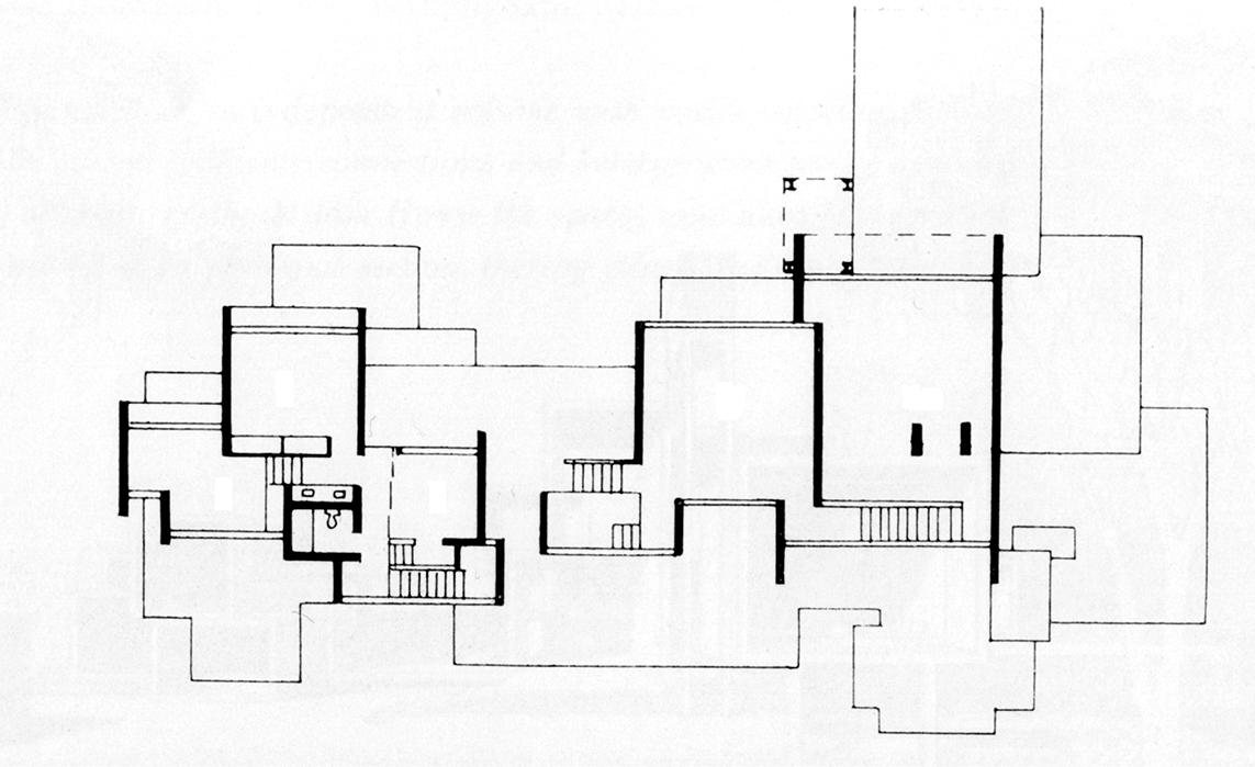 Callahan Residence. Birmingham, Alabama. Third Floor Plan.