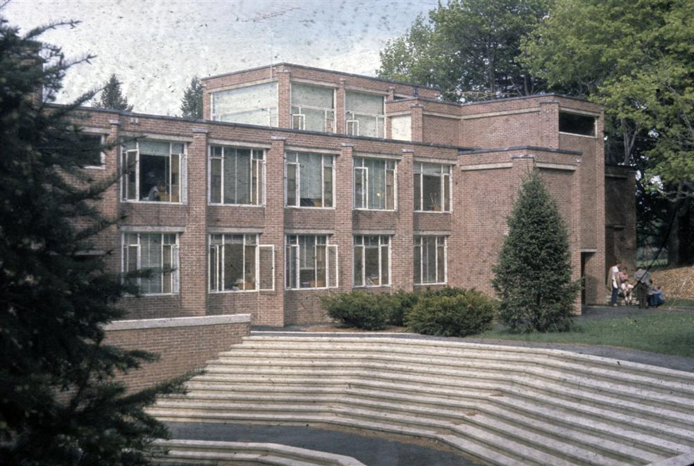 The Hotchkiss School, Lakeville, Connecticut. Undated photo of completed building exterior.
