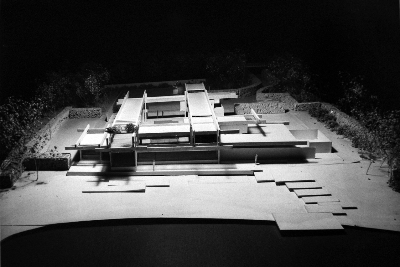 Pistell Residence, Lyford Cay, Nassau, Bahamas. Photo of Project Model.