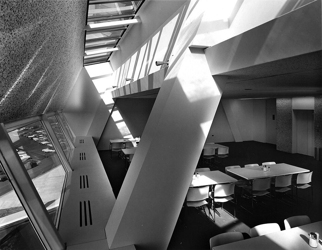 Burroughs Wellcome Company, Research Triangle Park, North Carolina. Photo of Building Interior.