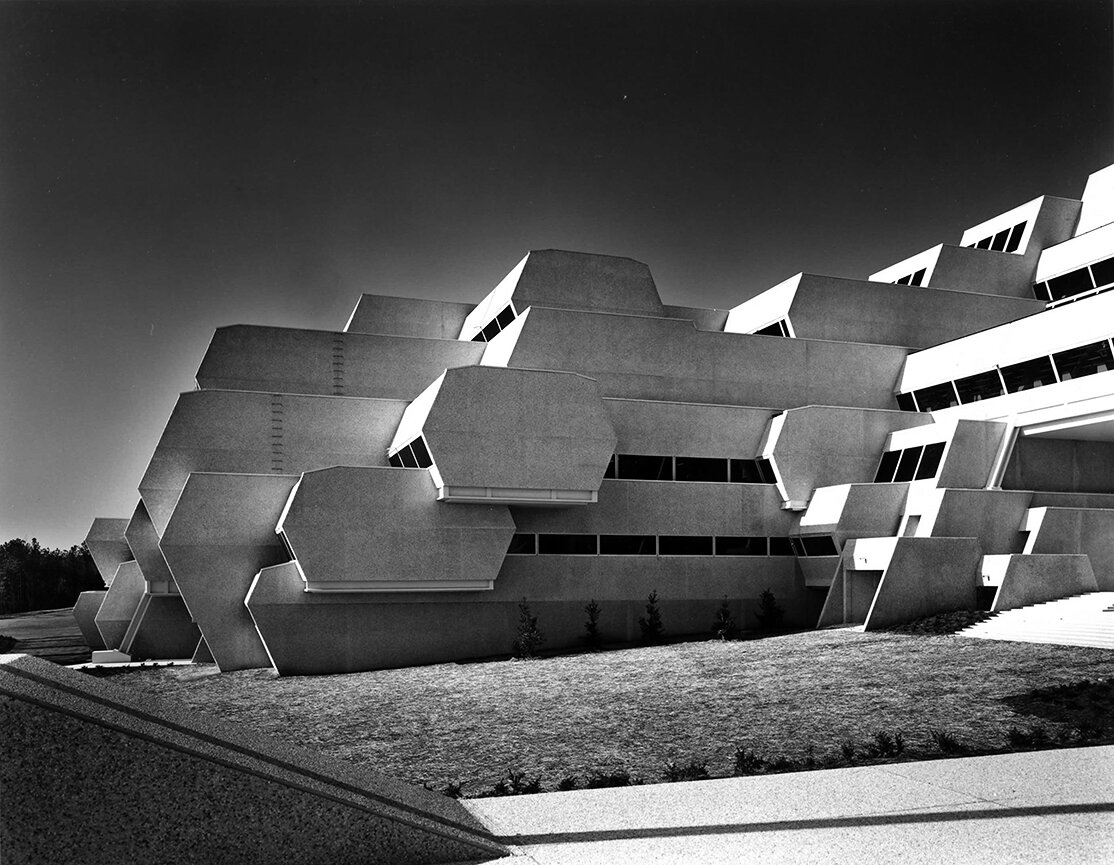 Burroughs Wellcome Company, Research Triangle Park, North Carolina. Photo of Building Exterior.