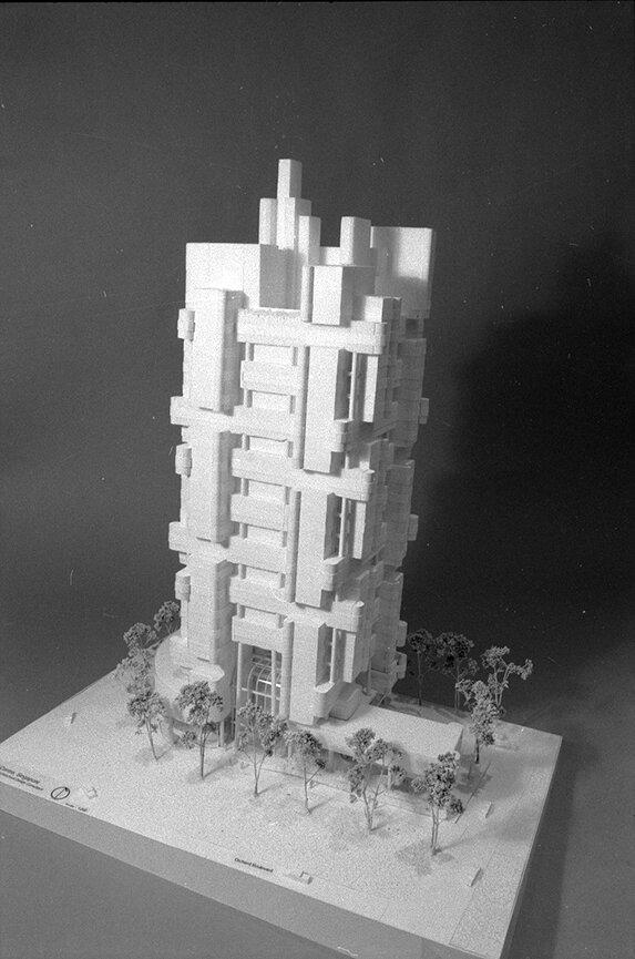 Medical Arts Building, Singapore. Photo of Presentation Model.